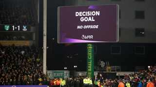 Premier League referees chiefs have been left frustrated by statements from football's lawmakers that suggested they are wrongly applying VAR rules when judging marginal offsides. Photo: Reuters
