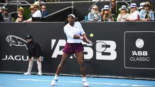 Top seed Serena Williams kick-started her Auckland Classic singles campaign in style with an easy 6-3 6-2 victory over Italian qualifier Camila Giorgi. Photo: Chris Symes/Photosport via AP