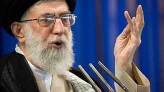 Iran's Supreme Leader Ayatollah Ali Khamenei speaks in Tehran. File picture: Morteza Nikoubazl/Reuters