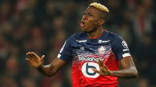 FILE - Lille's Victor Osimhen. Photo: Pascal Rossignol/Reuters