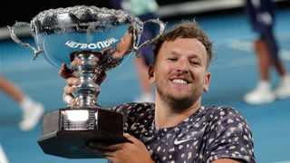 "Australian Paralympic tennis champion Dylan Alcott has slammed the omission of the wheelchair tournament from the U.S. Open, calling it ""disgusting discrimination"". Photo: AP Photo/Lee Jin-man"