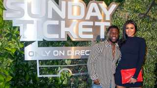 Kevin Hart and Eniko Parrish are expecting a baby girl. Picture: AP