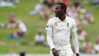 FILE - England's Jofra Archer during the second Test against New Zealand last year. Photo: Ross Setford/Reuters