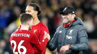 Jurgen Klopp has dismissed claims that Liverpool have become the best team in the world and reinforced his demand for more collective improvement. Photo: Frank Augstein/AP Photo