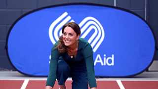Britain's Catherine, Duchess of Cambridge, attends a SportsAid event at the London Stadium in London. Picture: Reuters
