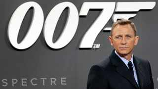 Daniel Craig poses for the media as he arrives for the German premiere of the James Bond movie 'Spectre' in Berlin, Germany. Picture: AP Photo/Michael Sohn/File