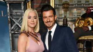 Orlando Bloom was celibate for six months before he started dating Katy Perry. Picture: AP