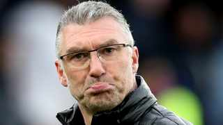 FILE - Watford manager Nigel Pearson says players' lives could be in danger if the Premier League returns too soon. Photo: Chris Radburn/Reuters