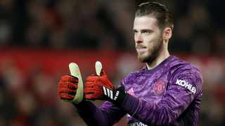 FILE - Manchester United goalkeeper David de Gea has come in for some criticism after his club's draw against Tottenham Hotspur. Photo: Carl Recine/Reuters
