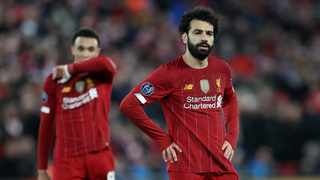Liverpool's Egyptian striker Mohamed Salah was not close to joining Real Madrid in 2018, the player's agent said over the weekend. Photo: Reuters/Carl Recine