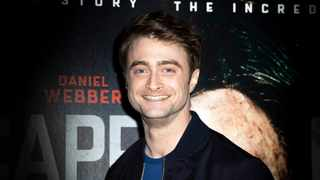 """Daniel Radcliffe poses for photographers upon arrival at a screening of the film """"Escape From Pretoria"""" in London. Picture: Grant Pollard/Invision/AP"""