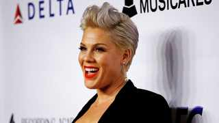 Pink attends a red carpet gala event honouring Dolly Parton as the MusiCares Person of the Year, ahead of the Grammy Awards, in Los Angeles, California. Picture: Reuters