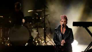 US singer Pink said she had tested positive for Covid-19 two weeks ago and has since recovered. Picture: Mario Anzuoni/Reuters