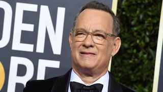 Tom Hanks arrives at the 77th annual Golden Globe Awards at the Beverly Hilton Hotel in Beverly Hills, Calif. Picture: Jordan Strauss/Invision/AP, File