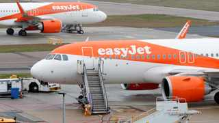 EasyJet expects to keep its middle seats empty once travel restrictions are lifted – although the move could push up prices for passengers. Picture: Reuters