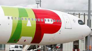 FILE PHOTO: An Airbus of TAP Air Portugal Airlines is pictured in Colomiers near Toulouse. Picture: Reuters