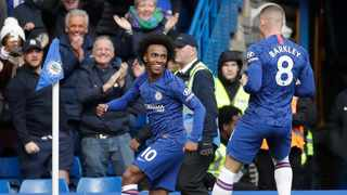 The deals of Brazilian midfielder Willian and French forward Olivier Giroud will expire on June 30 and Lampard said he wants to finish the season with all the resources he began it with as fourth-placed Chelsea look to seal a Champions League spot. Photo: AP Photo/Matt Dunham