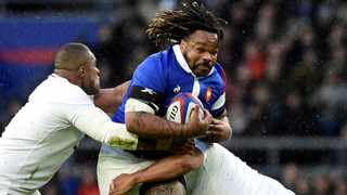 FILE - Mathieu Bastareaud during France's Six Nations game against England in London. Photo: Rebecca Naden/Reuters