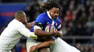 Mathieu Bastareaud during France's Six Nations game against England in London. Photo: Rebecca Naden/Reuters