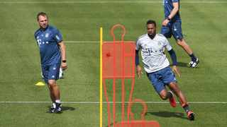 Bayern Munich are sweating on the fitness of Jerome Boateng ahead of their Bundesliga clash against Borussia Dortmund on Tuesday. Photo: Andreas Gebert/Reuters
