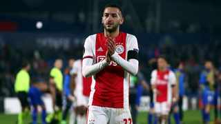 New Chelsea signing Hakim Ziyech said he was grateful his future with the Premier League club was secure before the uncertainty over football's immediate future caused by the COVID-19 pandemic. Photo: Reuters/Sergio Perez
