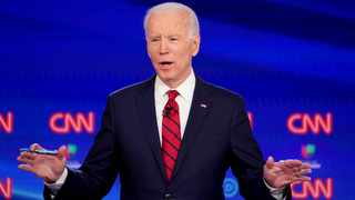 Democratic US presidential candidate and former Vice President Joe Biden. File picture: Kevin Lamarque/Reuters