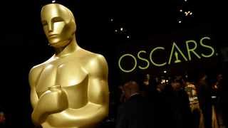 An Oscar statue is pictured at the press preview for the 91st Academy Awards Governors Ball in Los Angeles. Picture: Chris Pizzello/Invision/AP File