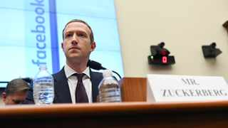 Facebook Chairman and CEO Zuckerberg testifies at a House Financial Services Committee hearing in Washington. File picture: Erin Scott/Reuters