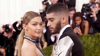 FILE PHOTO: Model Gigi Hadid and singer Zayn Malik arrive at the Met Gala in New York. Picture: Reuters