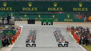 """This year's British Grand Prix """"is not a given"""" even without spectators and the decision depends on others, Silverstone managing director Stuart Pringle said on Saturday. Photo: Reuters"""