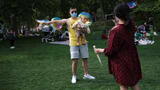 """What is infant-directed speech? Imagine saying """"look at the ball"""" to a cute, cuddly six-month-old. Picture: Reuters"""