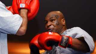 Former heavyweight boxing champion Mike Tyson hasn't announced any plans to return to the ring, though he did suggest on an Instagram post he might make himself available for 3 or 4-round exhibitions if the price was right. Picture: Marlene Karas/AP