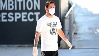 Lionel Messi believes he is better off not thinking too much about the risk of being infected by the coronavirus as Spanish soccer clubs step up their return to activity, saying he looks forward to getting back to playing matches. Photo: Miguel Ruiz/FC Barcelona via AP