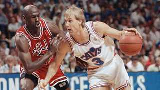 FA game ticket from Michael Jordan's 1984 NBA debut for the Chicago Bulls sold for nearly 25,000 dollars, a record for a ticket of its kind but not the overall record for the Hall of Famer's first game. Photo: AP Photo/Mark Duncan