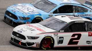 NASCAR is making its return at warp speed, with Sunday's race the first of four Cup events to be held over 11 days at Darlington and Charlotte Motor Speedway. Photo: AP Photo/Brynn Anderson