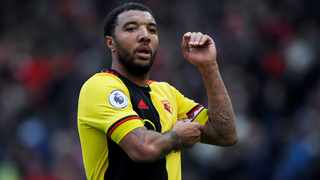 "Troy Deeney: ""It only takes one person to get infected within the group."" Picture: Reuters"