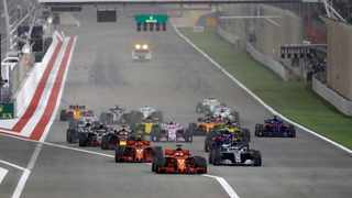 Formula One published an eight-race initial calendar with the season starting in Austria on July 5. Picture: Luca Bruno/AP