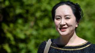 Huawei Technologies Chief Financial Officer Meng Wanzhou leaves her home to attend a court hearing in Vancouver. Picture: Reuters