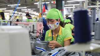 China's manufacturing supply chains have in fact proven to be highly resilient, getting back up to near full capacity very quickly following the Covid-19 outbreak and ending of the lockdown period. Photo: Hau Dinh/AP