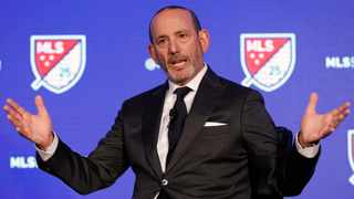 FILE - Major League Soccer Commissioner Don Garber speaks during the leagues 25th Season kickoff event in New York in February. Photo: Richard Drew/AP