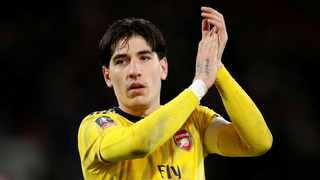 Arsenal defender Hector Bellerin hs said he will ensure 3,000 trees are planted for every victory by his team over the rest of the season to highlight the need to tackle climate change. Photo: Reuters
