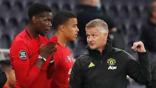 Paul Pogba, who had not played since Dec. 26 due to an ankle injury, came off the bench in the second half and won a penalty that Bruno Fernandes converted to equalise for United. Photo: Matthew Childs/Reuters