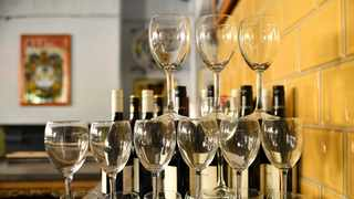 Most people enjoy a glass of wine with their meal when visiting a restaurant. Picture: Reuters