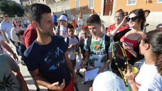 World number one Novak Djokovic tested positive for Covid-19 on Tuesday, days after he hosted a number of players in the Adria Tour exhibition tournament in the Balkan region. Photo: Zvonko Kucelin/AP Photo