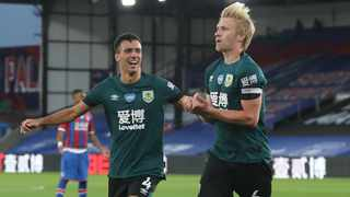 FILE - Burnley's influential pair of Ben Mee and Jack Cork could miss the rest of the football season after both players suffered injuries in recent weeks. Photo: Catherine Ivill/Reuters