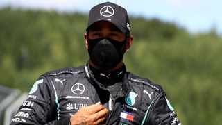 Six times world champion Lewis Hamilton was demoted from the front row to fifth on the starting grid for Sunday's Austrian Grand Prix. Photo: Mark Thompson/Reuters