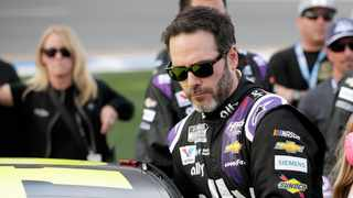 Jimmie Johnson, the seven-time NASCAR champion, has tested positive for coronavirus Photo: John Raoux/AP Photo