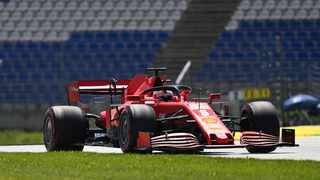Ferrari driver Sebastian Vettel of Germany steers his car during the first practice session for the Styrian Formula One Grand Prix at the Red Bull Ring racetrack in Spielberg, Austria. Photo: Joe Klamar/Pool via AP