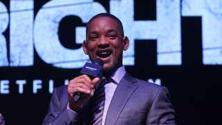 "Actor Will Smith at the special screening of film ""Bright"" in Mumbai. Picture: IANS"