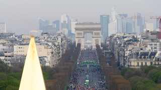 Paris Marathon postponed due to coronavirus. Photo: Chen Yichen/Xinhua